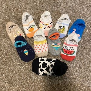 *Bundle* Old Navy No-Show Socks